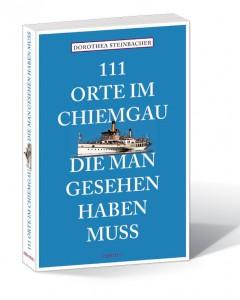 Buchcover 111 Orte m Chiemgau