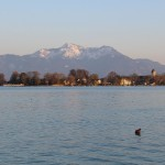 Autorin Dorothea Steinbacher am Chiemsee