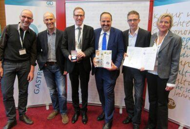 preisverleihung GAD Silber Lafer-Kochbuch
