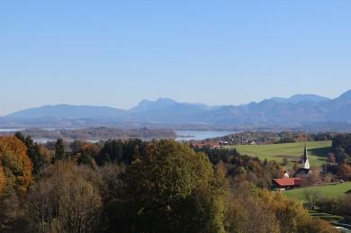 Blick von Cafe Weingarten