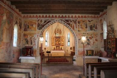 Streichenkirche Fresken klein