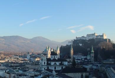 Salzburg Ende Dezember 2015