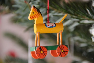 Weihnachtspferdchen