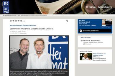 Steinbacher BR-Radio BR Heimat