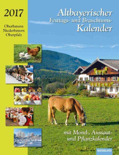 Kalender 2017 Altbayrischer