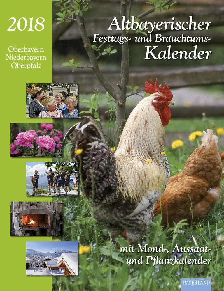 altbayerischer kalender 2018 cover