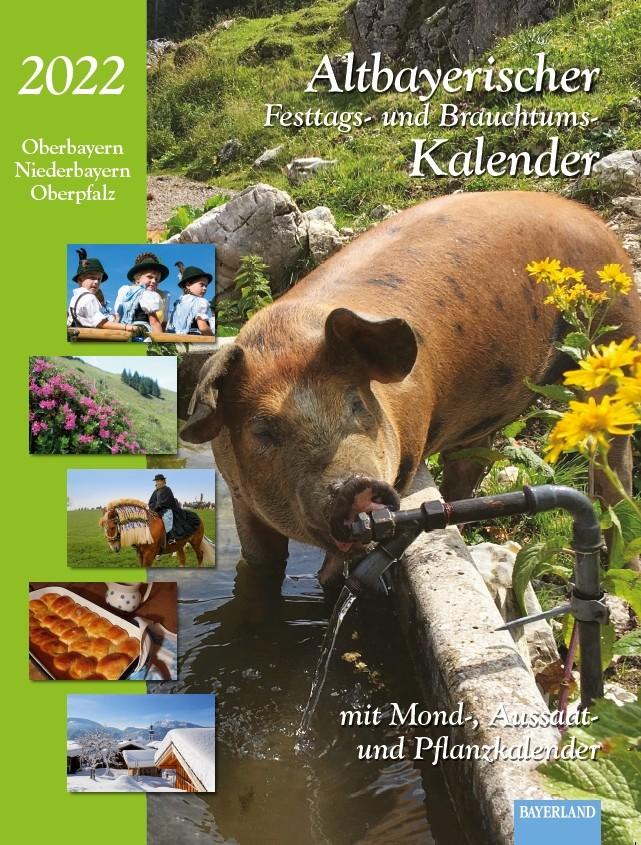 Kalender 2022 Titelbild Schwein